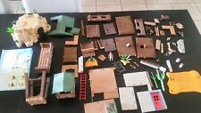 Lot Playmobil Western Fort Brave #5245 -VGC- Parts Pieces Incomplete