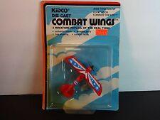 Kidco Combat Wings Red Albatross DIII WW I Bi-Plane Airplane MIP