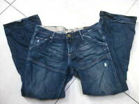 WOMENS G-STAR gstar ELWOOD HERITAGE LOOSE Jeans W 29 L 30 size UK 8 10 slouch