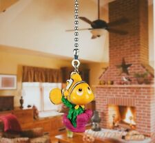 Disney Finding Nemo Colorful Clown Fish Dory Ceiling Fan Pull Light Lamp Chain