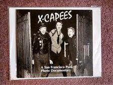 X-CAPEES: A San Francisco Punk Photo Documentary, '81 3rd PB Edition*V.RARE+OOP!