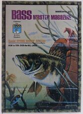 Bass Master Fishing Spring Magazine Issue Fish Metal Sign