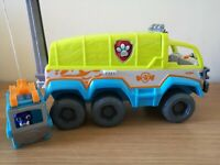 Paw Patrol  Paw Terrain Vehicle Rescue Set With Figure  Flashing Lights & Sounds