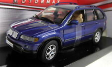 Motormax 1/24 Scale 73254 BMW X5 Dark blue Diecast model car