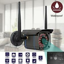 Wireless WiFi Outdoor IP Camera Security CCTV Waterproof Night Vision HD 720P WT