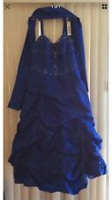 Royal Blue Formal/Prom Dress - Size 14W - New