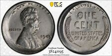 1943 1C PCGS 5% Off-Center Mint Error - Cleaned -RicksCafeAmerican.com