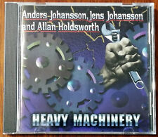 Anders Johansson, Jens Johansson And Allan Holdsworth – Heavy Machinery CD – Ex