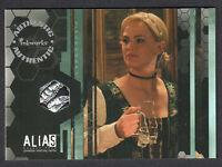 ALIAS SEASON 4 PIECEWORKS COSTUME CARD #PW2 JENNIFER GARNER 8-CASE VARIANT CARD
