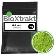 BioXtrakt ® Thé vert (Matcha) extrait en poudre, super aliments, certifié pur