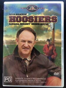 Hoosiers DVD (PAL, 2004) Free Post