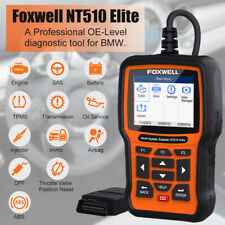 Foxwell NT510Elite Full System OBD2 Diagnostic Scanner For BMW EPB TPMS Oil Rese