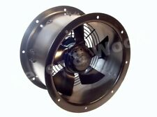 Duct Fan 250mm 1 phase 2 pole Cased Axial Kitchen Extraxtion Ducting