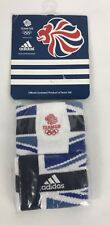 Adidas Team GB London UK 2012 Olympics Sweatbands Sweat Bands Blue Red White
