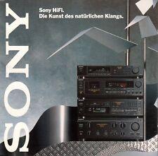 SONY HIFI - DIE KUNST DES NATÜRLICHEN KLANGS / CD