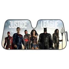 Superhero Car Windshield Sun Shade Heat Reflector - Batman Superman Wonder Woman