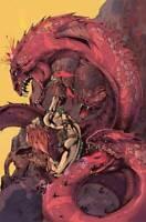 Red Sonja #22 Castro 1:15 Virgin FOC Variant Dynamite Comics 1st Print unread NM