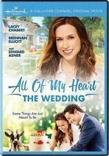 Hallmark:All of my Heart The Wedding(DVD)Lacey Chabert,Brennan Elliott,Ed Asner