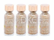 4 x l'oreal True Match Liquid Abbronzante Profondo colorito Bronzeo Neutro N 6-7-8