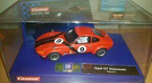 Carrera Digital 132 Opel GT Steinmetz  Race 2