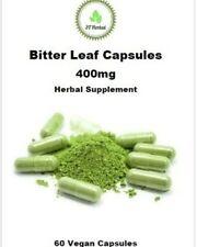 Bitter Leaf Capsules 400mg  - 60 Capsules 100% Organic