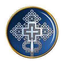 Ethiopian Cross Pin Badge