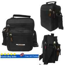 Messenger Bag Black Cross Body Shoulder Utility Sports Travel Work Men Women