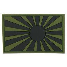 3D-Patch Kriegsflagge Japan oliv/schwarz