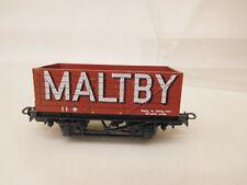 MES-63771Liliput H0 Güterwagen Maltby sehr guter Zustand