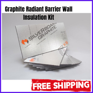 Wall Insulation Kit Radiant Barrier 9 Sheets Laminated Foam Board Silver