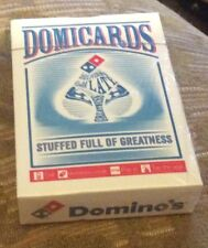 Playing Cards. -  Domicards - Collectable Cards off Dominoes  Pizza