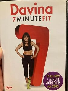Davina - 7 Minute Fit region 2 DVD (exercise / fitness / workout / health)