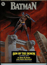 Batman Son of the Demon DC Comics LTD  Bingham Barr Signed Hardcover Book 1987
