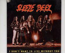 CDSLEEZE BEEZi don't want to live without youSINGLE CARDSLEEVE EX   (B3815)