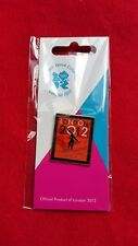 Olympics London 2012 Venue Sports Logo Pictogram Pin - Gymnastics - £2.49