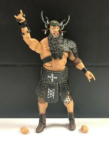 WWE Mattel Viking Raiders Ivar Elite Series #80 Figure loose