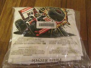 Supreme Crash Tee T-Shirt Size Large White FW21 Supreme New York 2021 New DS
