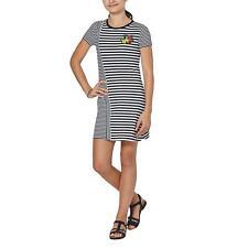 Million X Kinder Mädchen Kleid Kurzarmkleid Sommerkleid Rundhals Mode schwarz