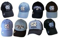 North Carolina Tar Heels UNC Cap Structured Adjustable Hat Choose Color/Style