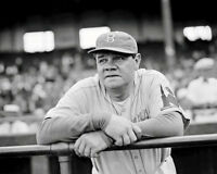 Babe Ruth Photo 8X10 - Brooklyn Dodgers 1938 - Buy Any 2 Get 1 Free