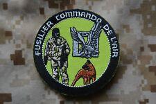 Z039 écusson insigne patch militaire Fusilier Commando de l'Armée de l'Air Cyno