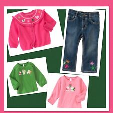 """NWT 18-24 Gymboree """"CHEERY ALL THE WAY"""" 4pc Outfit CARDIGAN, PANTS & 2 TOPS Set"""