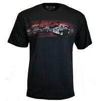 Chevrolet Classic Trucks Men's T-shirt Chevy General Motors Sunset Newport Blue