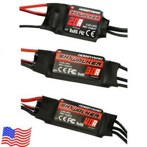 20-40A Brushless Speed Controller ESC BEC for Helicopter Airplane RC Drone USA