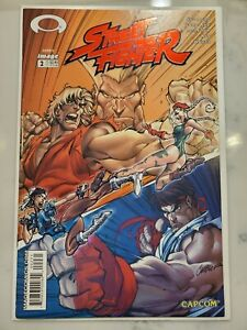 Street Fighter #2 Jay Company J. Scott Campbell Red Foil Variant NM