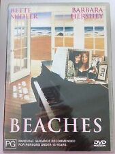 BEACHES R4 DVD Free Post New & Sealed Bette Midler
