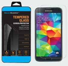 10x Wholesale Lot of 10 Tempered Glass Screen Protector for Samsung Galaxy S5