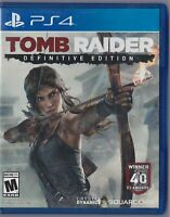 Tomb Raider: Definitive Edition (PS4, PlayStation 4)