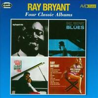 RAY BRYANT - TRIO/ALONE WITH THE BLUES/LITTLE SUSIE/HOLLYWOOD JAZZ BEAT * NEW CD