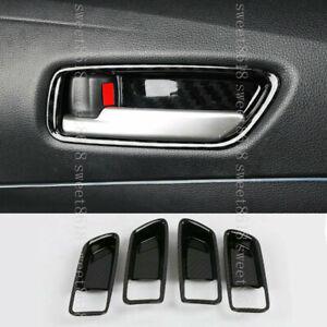 For Toyota Corolla 2020 Carbon Fiber Color Interior Door Handles Bowl Cover Trim